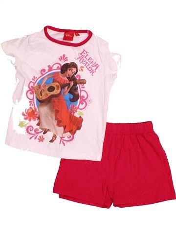 Pyjama 2 pièces fille DISNEY rouge 3 ans été #1526138_1