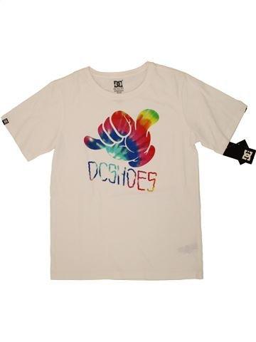 T-shirt manches courtes garçon DC SHOES bleu 14 ans été #1526376_1