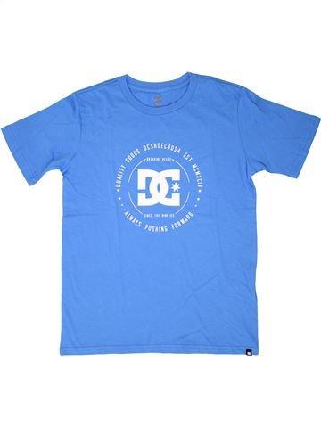 T-shirt manches courtes garçon DC SHOES bleu 14 ans été #1526388_1