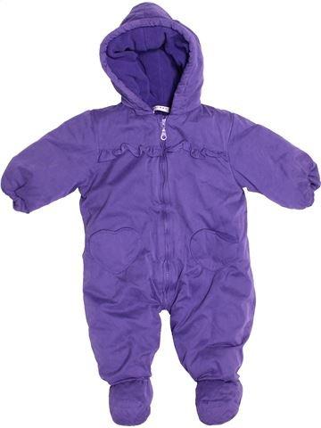 Mono-polar niña LA REDOUTE CRÉATION violeta 9 meses invierno #1527199_1