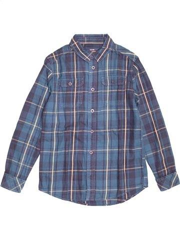 Chemise manches longues garçon KIABI bleu 12 ans hiver #1527376_1