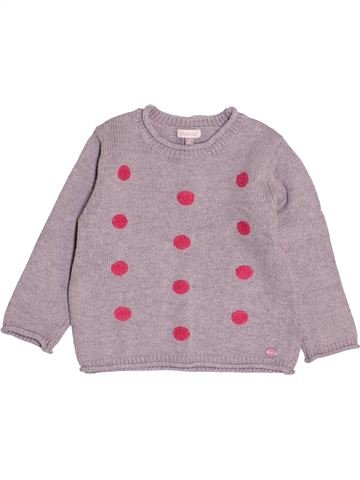 Pull fille ABSORBA rose 2 ans hiver #1527723_1