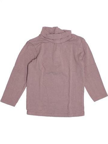 T-shirt col roulé fille KIABI violet 2 ans hiver #1527782_1