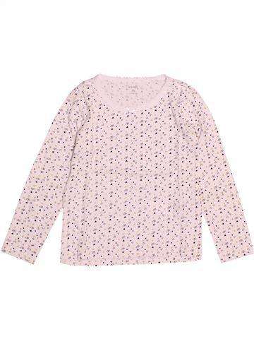 T-shirt manches longues fille KIABI rose 6 ans hiver #1527917_1