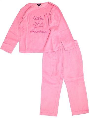 Pyjama 2 pièces fille KIABI rose 5 ans hiver #1527924_1