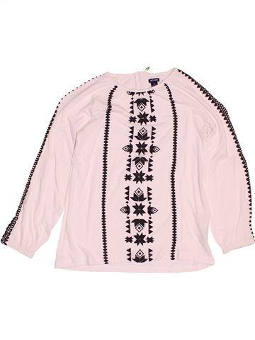 T-shirt manches longues fille KIABI blanc 5 ans hiver #1527928_1
