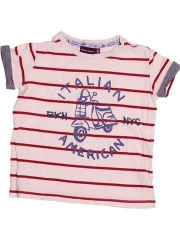 T-shirt manches courtes garçon SERGENT MAJOR rose 3 ans été #1528166_1