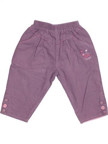Pantalon fille SUCRE D'ORGE violet 6 mois hiver #1528342_1