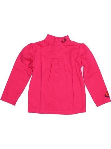 T-shirt manches longues fille DPAM rose 2 ans hiver #1528528_1