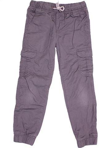 Pantalon garçon KIABI violet 8 ans hiver #1528787_1