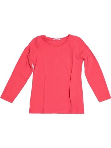 T-shirt manches longues fille DPAM rose 4 ans hiver #1528909_1