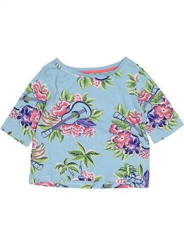 T-shirt manches courtes fille JOHNNIE B bleu 10 ans été #1529262_1
