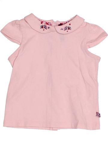 T-shirt manches courtes fille SERGENT MAJOR rose 6 mois été #1529811_1