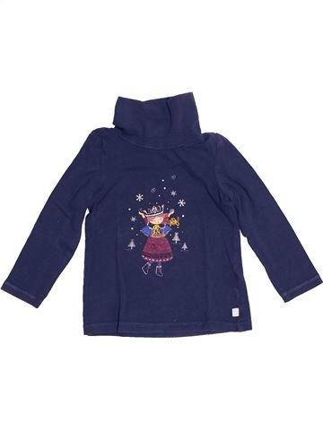 T-shirt col roulé fille SERGENT MAJOR bleu 2 ans hiver #1529935_1
