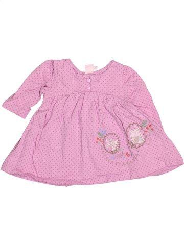 Robe fille MINI CLUB rose 3 mois hiver #1530753_1