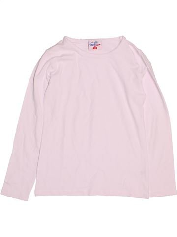 T-shirt manches longues fille TOPOLINO rose 8 ans hiver #1530794_1