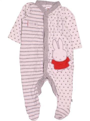 Pyjama 1 pièce unisexe MIFFY violet 6 mois été #1531129_1
