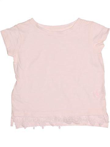 T-shirt manches courtes fille RIVER ISLAND blanc 4 ans été #1531210_1