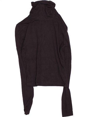 T-shirt col roulé fille NEW LOOK marron 13 ans hiver #1531351_1