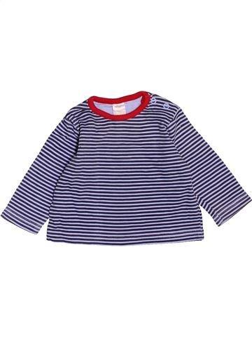 T-shirt manches longues garçon BABY bleu 3 mois hiver #1531476_1