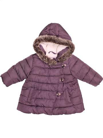 Doudoune fille OKAIDI violet 6 mois hiver #1532105_1