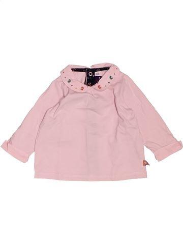 T-shirt manches longues fille SERGENT MAJOR violet 6 mois hiver #1532202_1