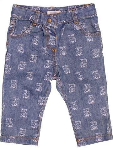 Pantalon fille BOUT'CHOU gris 6 mois été #1532233_1