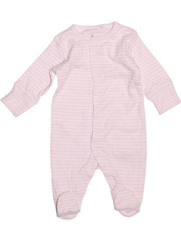 Pyjama 1 pièce garçon NEXT rose 1 mois été #1533252_1