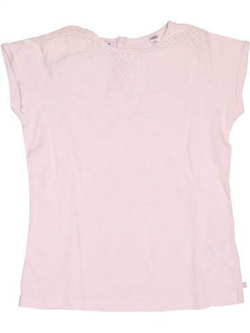 T-shirt manches courtes fille OKAIDI rose 12 ans été #1533855_1