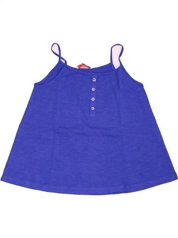 T-shirt sans manches fille LISA ROSE bleu 10 ans été #1533861_1