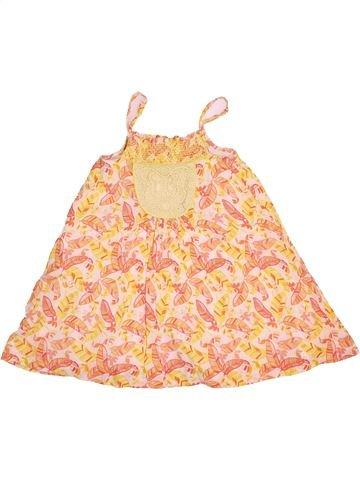 Vestido niña VERTBAUDET beige 5 años verano #1533918_1