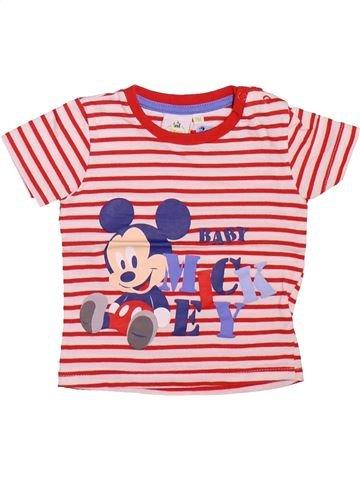 Camiseta de manga corta niño DISNEY rosa 9 meses verano #1534208_1