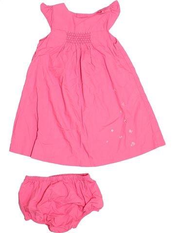Vestido niña JACADI rosa 2 años verano #1534241_1