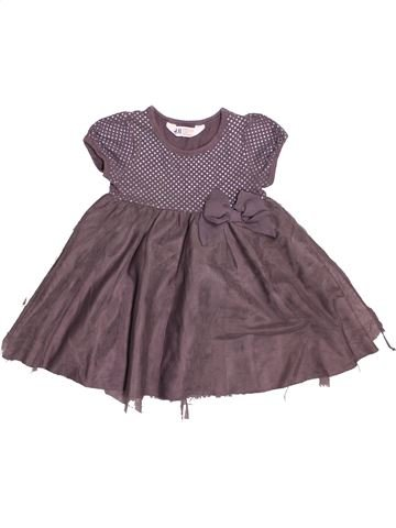 Robe fille H&M gris 4 ans hiver #1534549_1