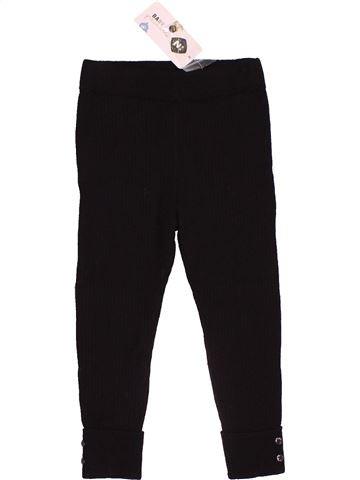 Pantalon fille GRAIN DE BLÉ noir 2 ans hiver #1534810_1