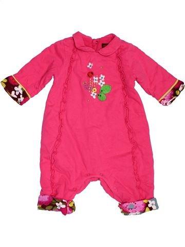 Combinación larga niña CATIMINI rosa 3 meses invierno #1535449_1