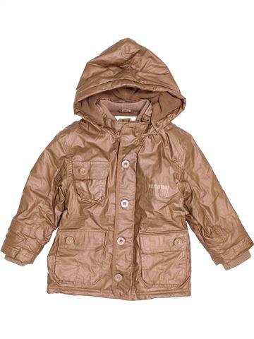 Abrigo niño VERTBAUDET marrón 4 años invierno #1535567_1