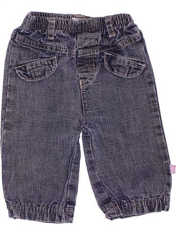 Pantalon garçon TAPE À L'OEIL bleu 6 mois été #1535719_1