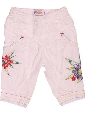 Pantalon fille LA COMPAGNIE DES PETITS blanc 3 mois été #1536168_1