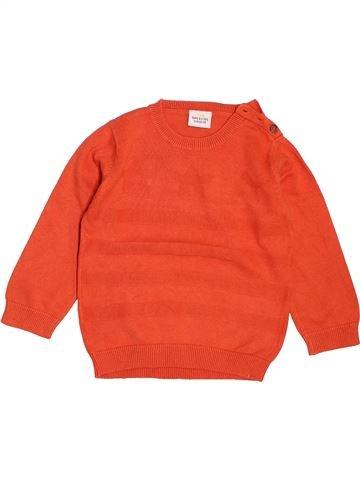 Pull garçon TAPE À L'OEIL orange 2 ans été #1536218_1