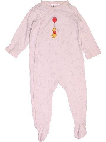 Pyjama 1 pièce fille H&M rose 12 mois été #1536271_1