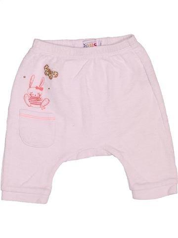 Pantalon fille LA COMPAGNIE DES PETITS rose 3 mois été #1536358_1