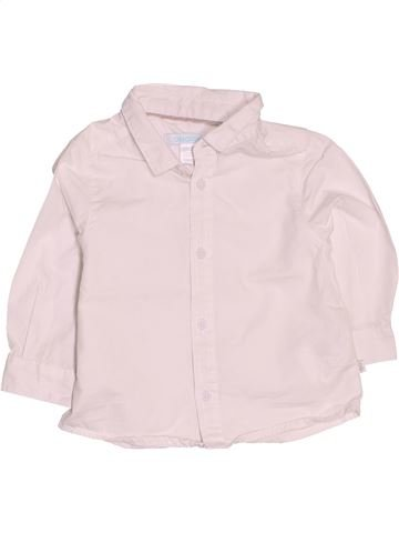 Camisa de manga larga niño OKAIDI rosa 12 meses invierno #1536518_1