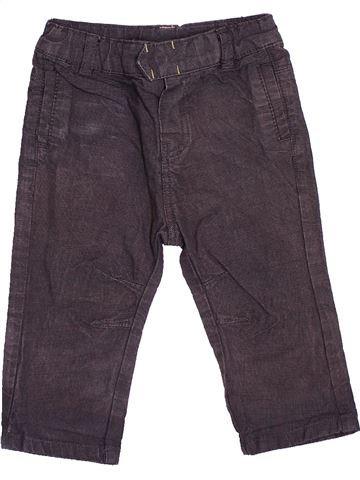 Pantalón niño OKAIDI gris 6 meses invierno #1536527_1
