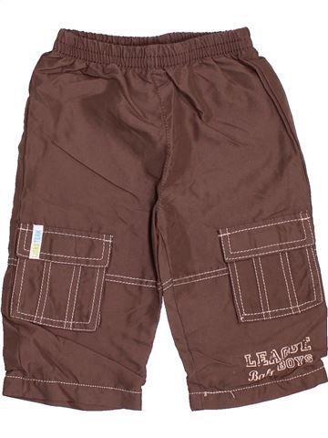 Pantalon garçon SANS MARQUE marron 12 mois hiver #1537451_1