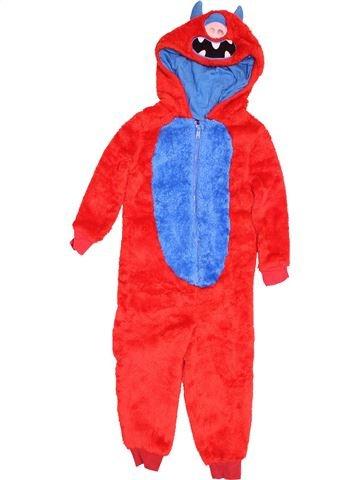 Robe de chambre garçon GEORGE rouge 4 ans hiver #1537636_1