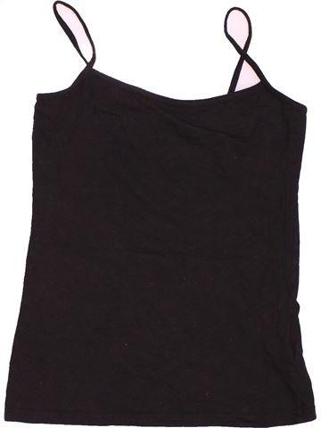 T-shirt sans manches fille PRIMARK marron 12 ans été #1538017_1