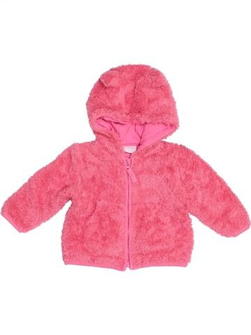 Gilet fille MINICLUB rose 6 mois hiver #1538135_1