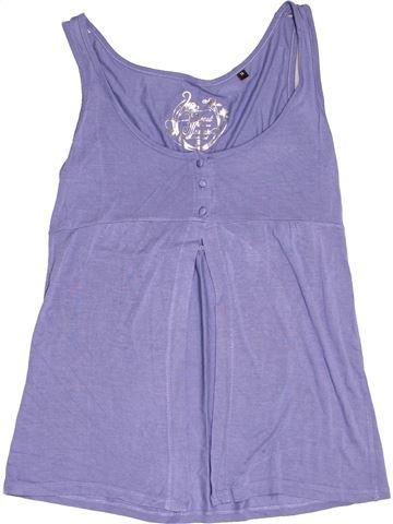 T-shirt sans manches fille BEST MOUNTAIN violet 14 ans été #1538301_1