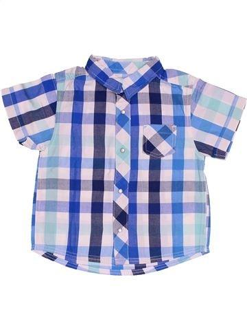 Chemise manches courtes garçon KIABI blanc 12 mois été #1538484_1